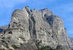 La montagna oscilla la vista Fotografie Stock Libere da Diritti
