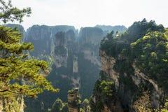 La montagna spettacolare di hallelujah dell'avatar immagine stock