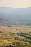 la Montagna-steppa modella la Bulgaria Fotografia Stock Libera da Diritti