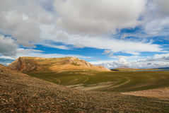 La montagna Tibet Fotografie Stock Libere da Diritti