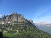 La montagna trascura Immagini Stock