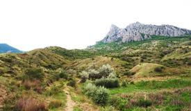 La montagne Images libres de droits