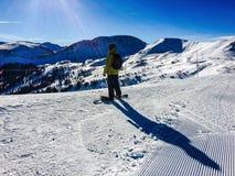La montagne Photo libre de droits