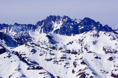 La montagne au Chili Photos stock