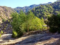 La montagne, chaouen Photographie stock libre de droits
