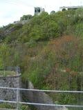 La montagne de bastille à Grenoble photo libre de droits