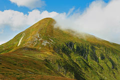 La montagne de Goverla Photos stock