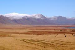 La montagne de l'Islande Images libres de droits
