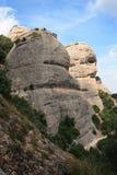 La montagne de Montserrat Photographie stock