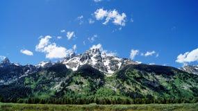 La montagne de Teton grand Images libres de droits