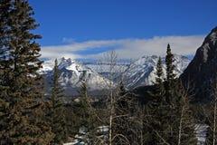 La montagne donnent sur Photo libre de droits