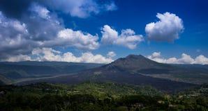 La montagne en Indonésie Photos libres de droits