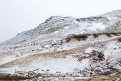 La montagne sur la péninsule du sud Photographie stock