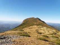 La montagne Tibles photo libre de droits
