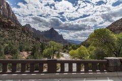 La montagne Zion National Park de gardien images libres de droits