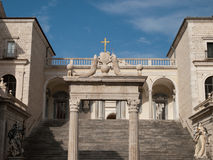 La Montecassino-Italie Photos stock