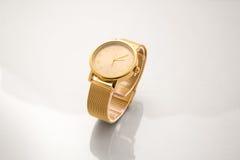 La montre-bracelet de luxe des hommes Photos stock