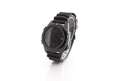 La montre-bracelet de luxe des hommes Images libres de droits