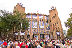 La Monumental, Barcelona Stock Photography