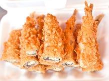 La mormora fritta del pesce in scatola per mangia Immagine Stock
