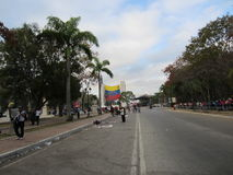 La mort chavez Venezuela Image stock