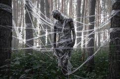 La mort dans la forêt photo libre de droits