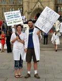 La mort de l'évidence mars à Ottawa Photos stock