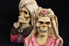 La mort de mariage Photographie stock