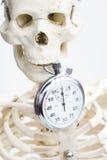 La mort et temps mort Photo libre de droits