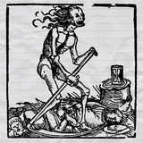 La mort noire illustration de vecteur
