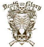 La mort ou gloire illustration de vecteur