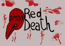 La mort rouge Images libres de droits