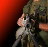 La morte del cuscinetto di guerra fotografia stock libera da diritti