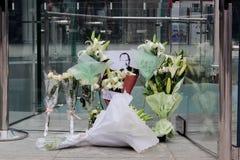 La morte del fondatore Steve Jobs della mela Fotografia Stock