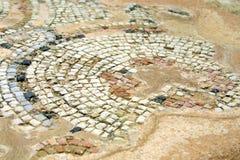 La mosaïque antique Image libre de droits