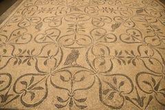 La mosaïque romaine antique dans Roman Museum national, romain, Italie photos libres de droits