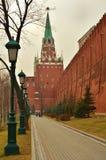 La Moscú Kremlin Foto de archivo libre de regalías