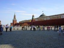 La Moscú Kremlin Cielo claro y una nube del deslumbramiento Foto de archivo libre de regalías