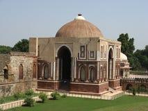 La moschea al complesso di Qutb Minar Immagine Stock