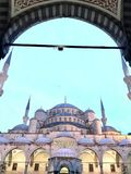 La moschea blu, Costantinopoli fotografia stock