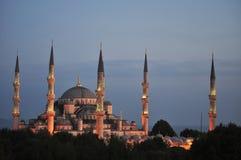 La moschea blu - Costantinopoli Fotografie Stock
