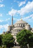 La moschea blu a Costantinopoli, Turchia Fotografie Stock