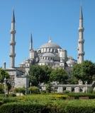 La moschea blu. Costantinopoli, Turchia fotografia stock libera da diritti