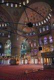 La moschea di Ahmed del sultano - moschea blu di Costantinopoli Immagine Stock