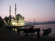La moschea di Buyuk Mecidiye Fotografie Stock
