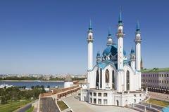 La moschea di Kul Sharif nel Cremlino di Kazan La Russia Immagine Stock