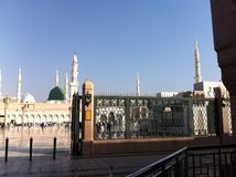 La moschea di Maometto del profeta Fotografie Stock Libere da Diritti