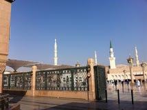 La moschea di Maometto del profeta Fotografia Stock