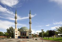 La moschea di Mevlana Immagini Stock Libere da Diritti