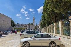 La moschea di Omar, il più vecchio a Betlemme immagini stock libere da diritti